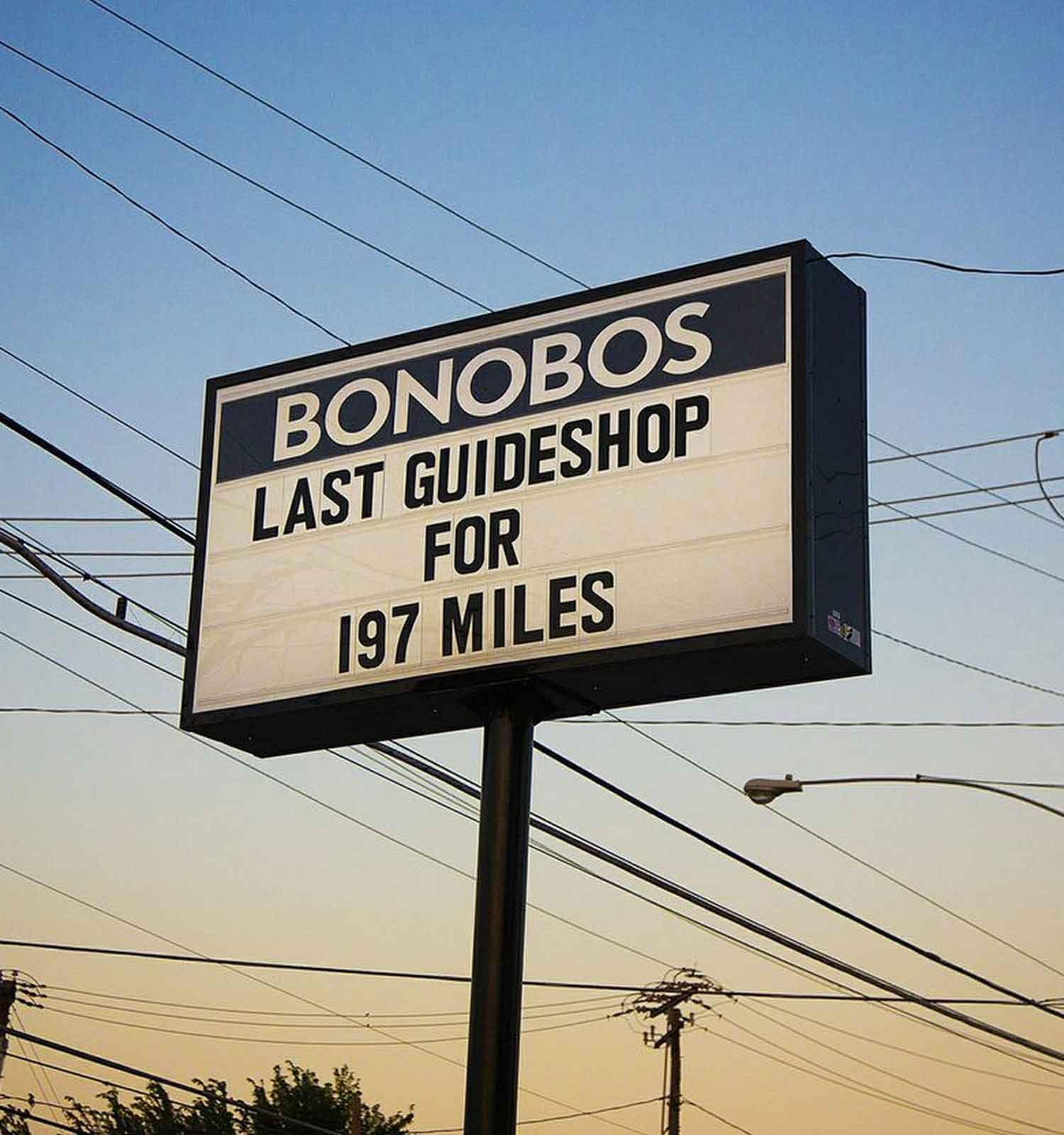 Photo of Bonobos Sign