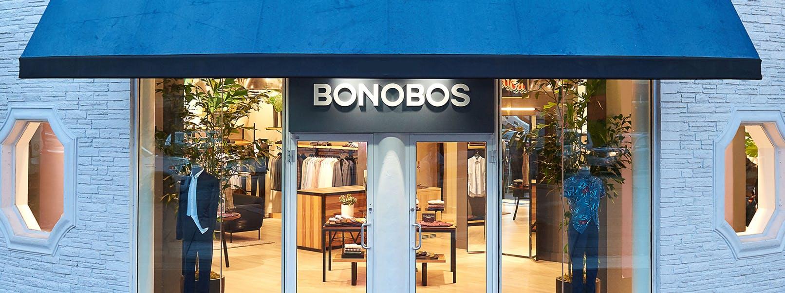 Entrance of Bonobos guideshop