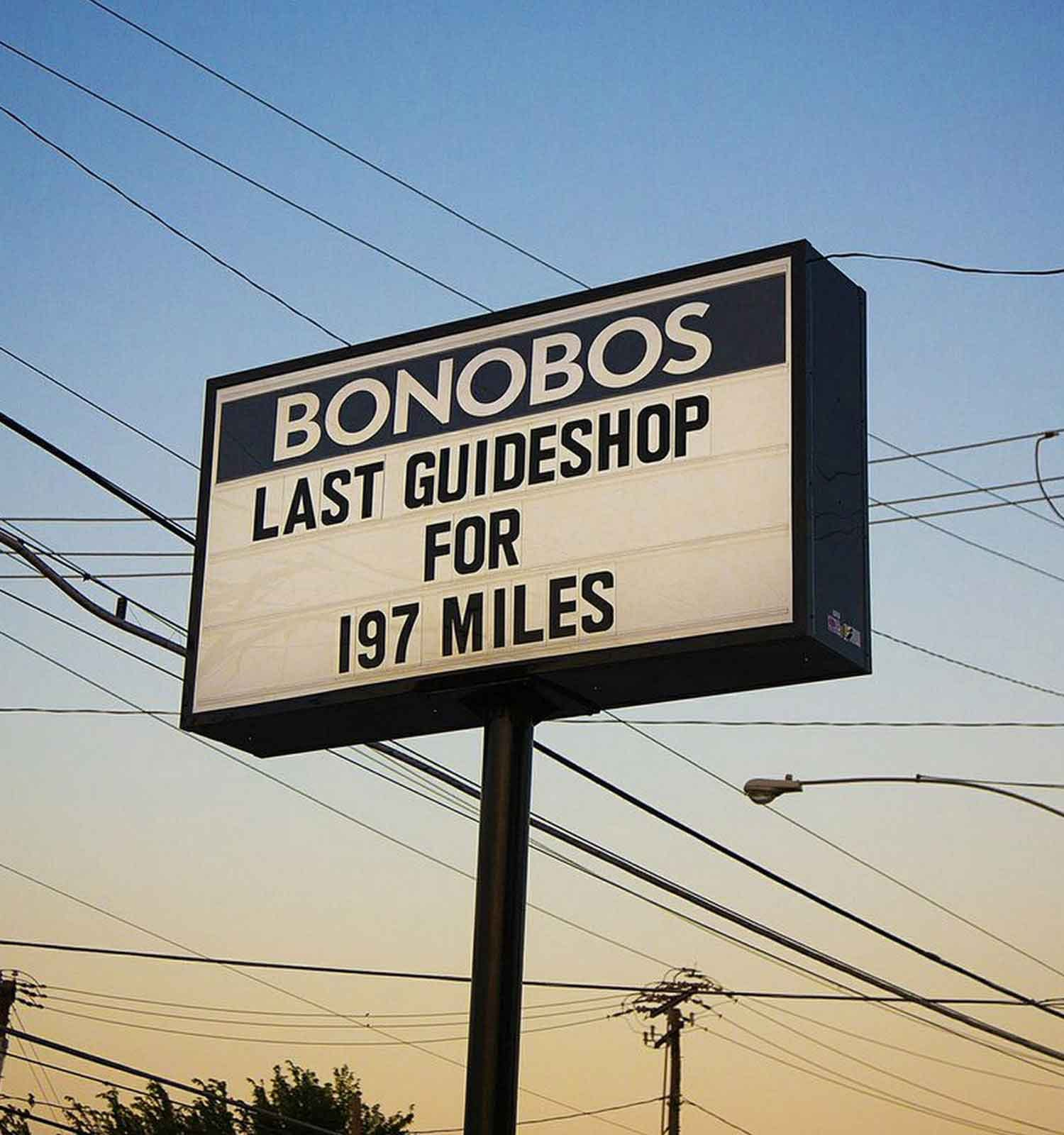 Photo of Bonobos Sign