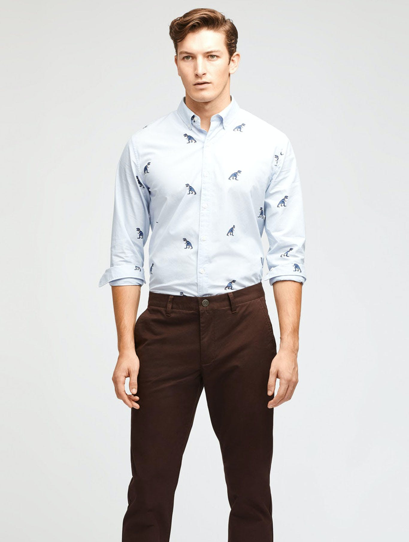 Image of man in a casual shirt