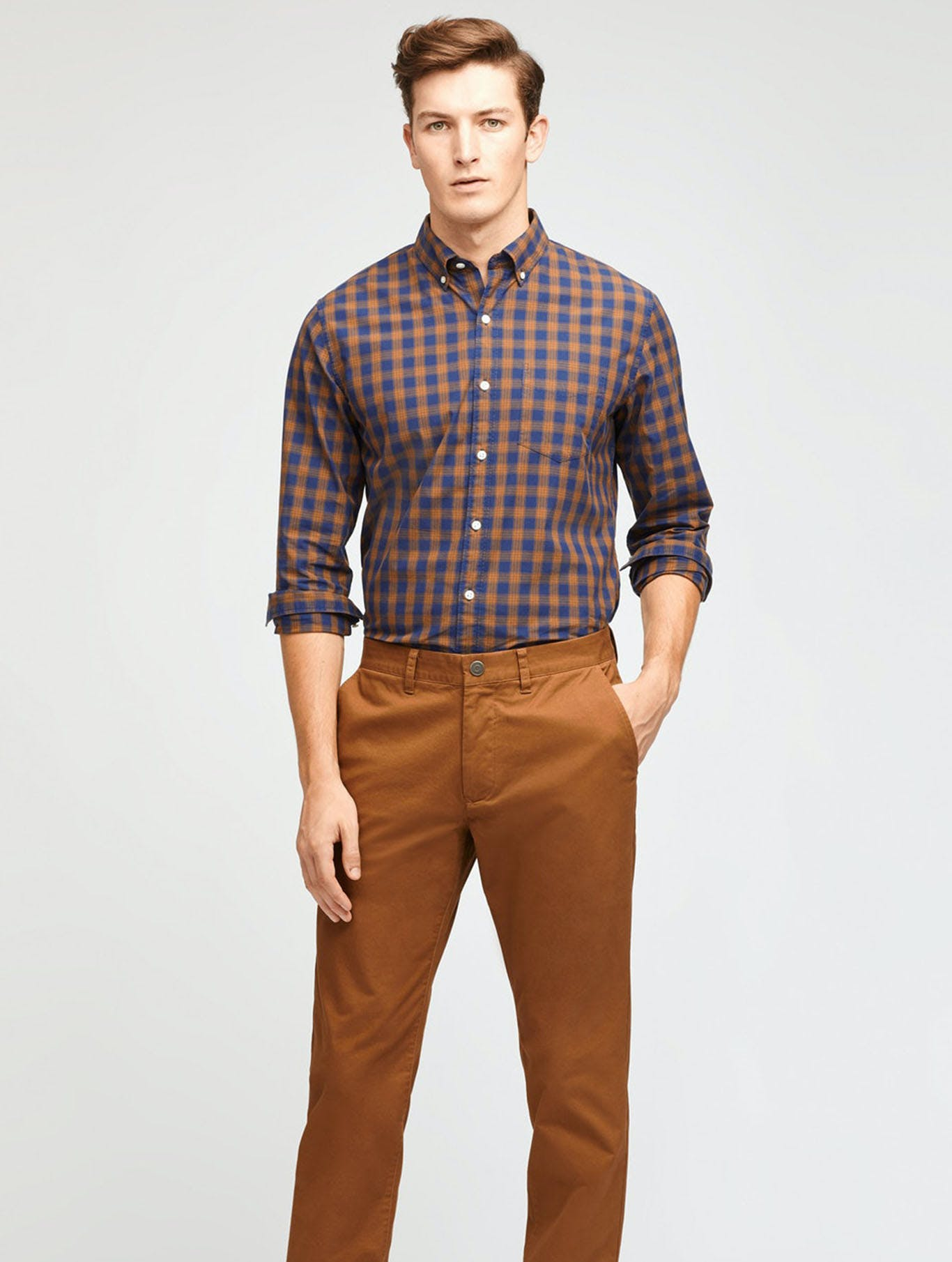 Image of man in chinos