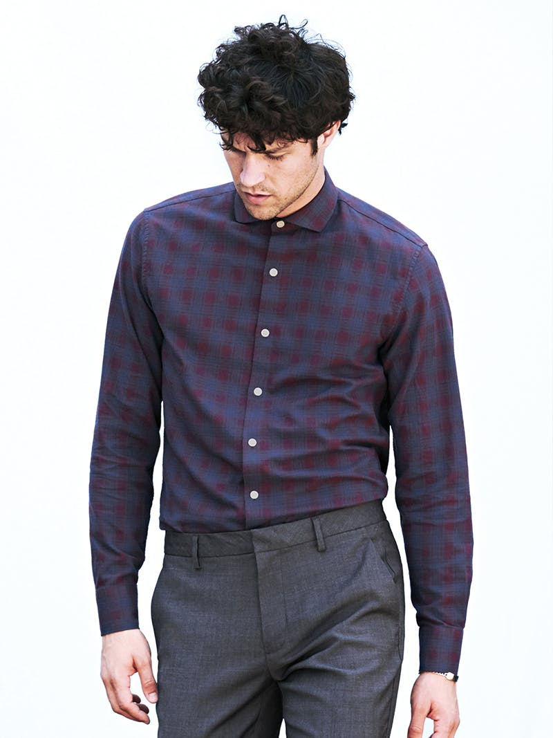 Image of man in a dress casual shirt