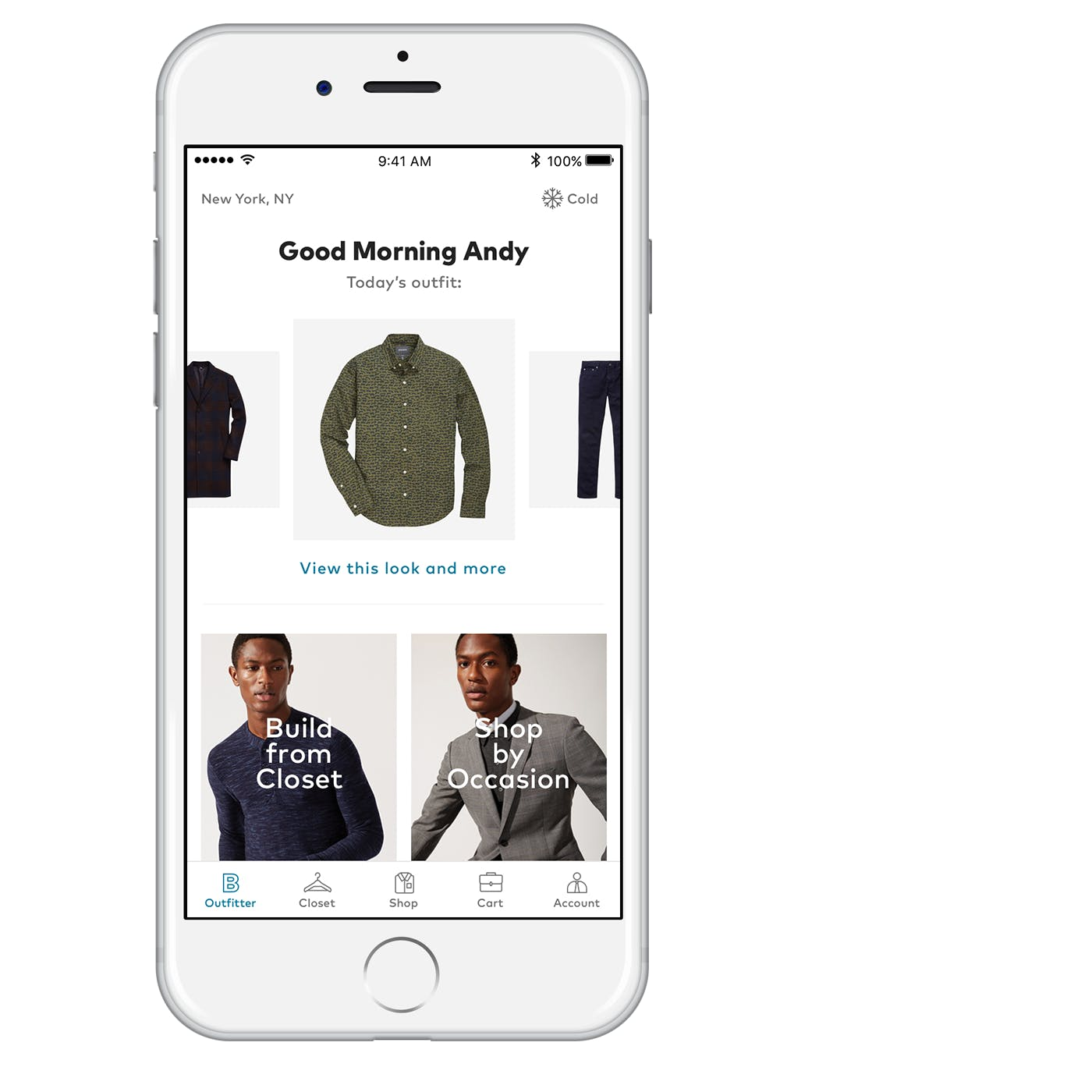 Men's Clothing App