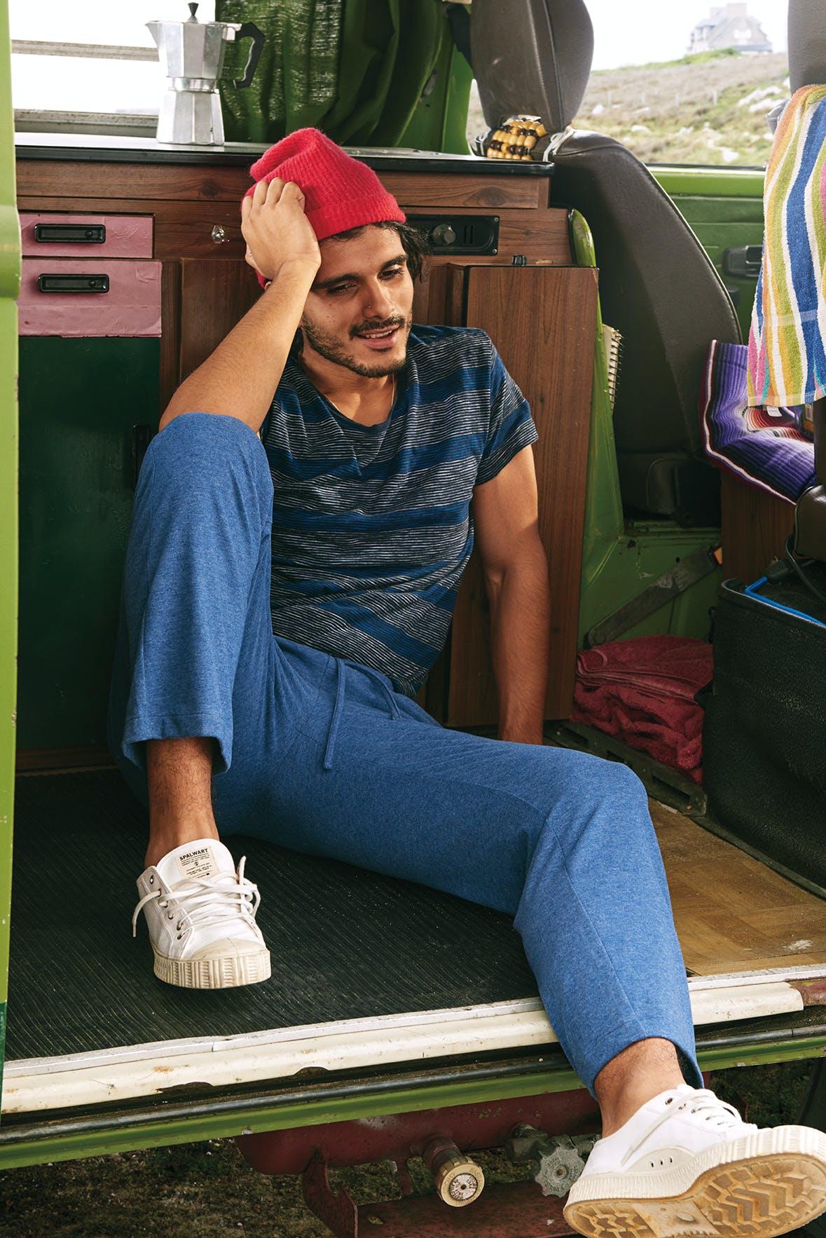 Man wearing Ultrasoft Lounge Pants
